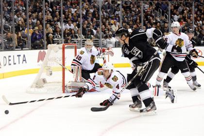 Обладатель Кубка Стэнли проиграл первый матч сезона НХЛ
