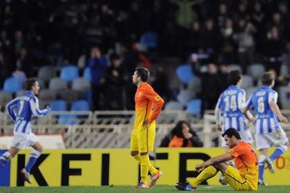 «Барселона» потерпела первое поражение в чемпионате Испании