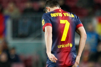 Давид Вилья рассказал тренеру о желании уйти из «Барселоны»
