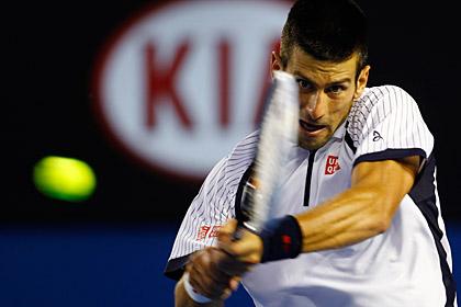Новак Джокович вышел в полуфинал Australian Open
