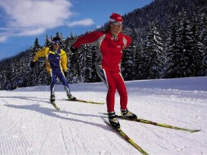 В Реадовке прошли областные соревнования по лыжным гонкам