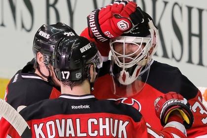 Ковальчук забросил Брызгалову в матче НХЛ