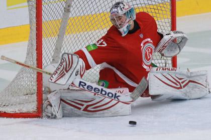 В СКА нашли замену вратарю из НХЛ