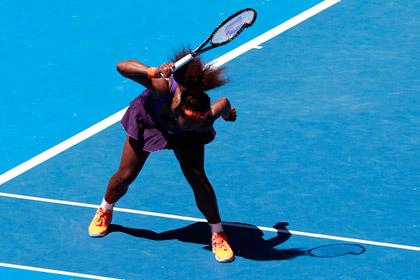 Серена Уильямс выплатит рекордный штраф за сломанную ракетку