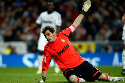Касильяс пропустит игры с «Манчестер Юнайтед» в Лиге чемпионов