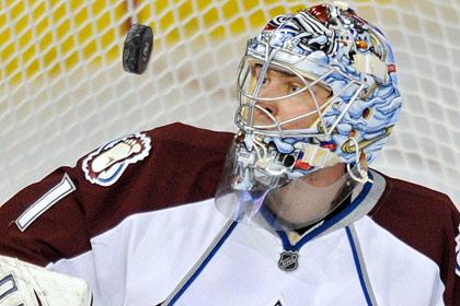 Российский вратарь стал второй звездой дня в НХЛ