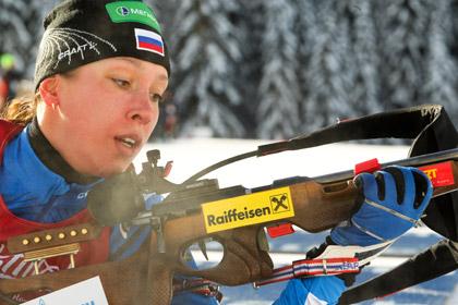 Россиянка выиграла три золота на юниорском ЧМ по биатлону