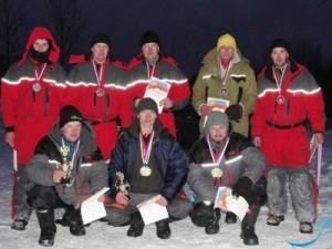 Гагаринские рыбаки заняли весь пьедестал почета областных соревнований