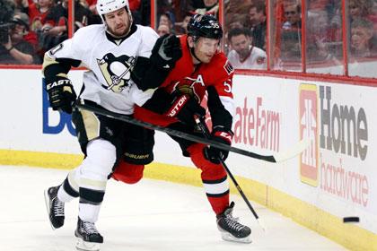 Российский защитник забросил победную шайбу в матче НХЛ