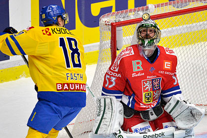 Чехи обыграли шведов на третьем этапе Евротура
