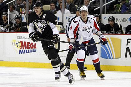 Малкин набрал три очка в матче НХЛ