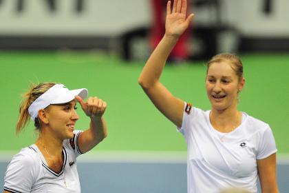 Российские теннисистки вышли в полуфинал Кубка Федерации
