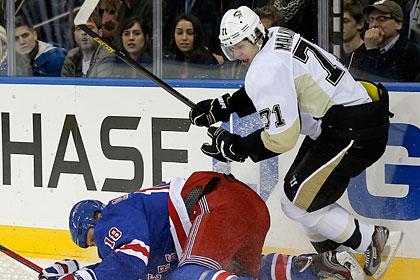 Малкин набрал два очка в матче НХЛ