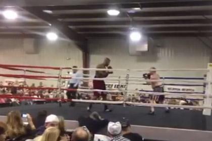 Американский боксер дисквалифицирован за симуляцию нокаута