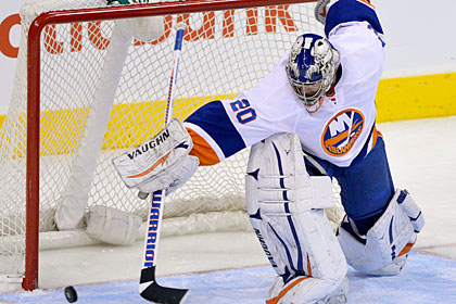 Набоков отбил 36 бросков в матче НХЛ