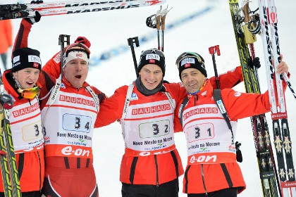 Норвегия побила рекорд чемпионатов мира по биатлону