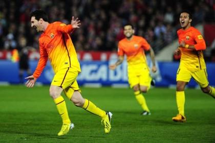 Месси забил трехсотый гол за «Барселону»