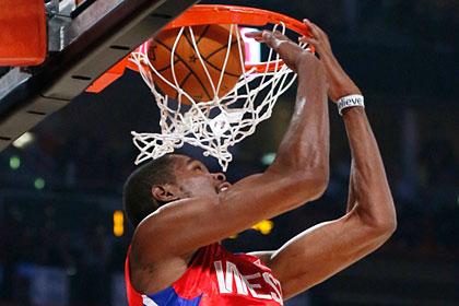 Команда Запада победила в Матче звезд НБА