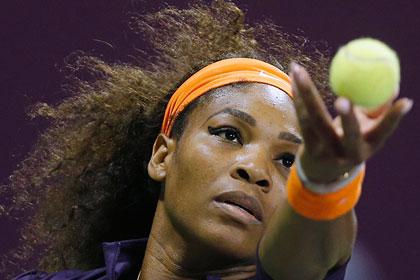 Серена Уильямс возглавила теннисный рейтинг