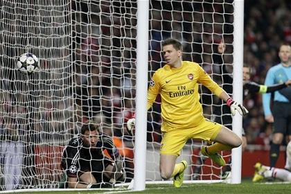 «Бавария» обыграла «Арсенал» в Лиге чемпионов