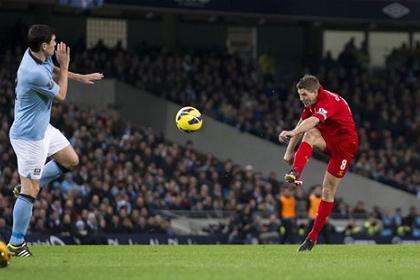 «Манчестер Сити» и «Ливерпуль» сыграли вничью в чемпионате Англии