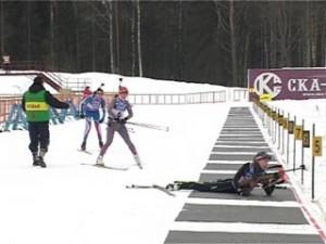 Новая биатлонная трасса Смоленщины приняла первенство ЦФО