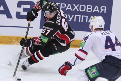 «Авангард» стартовал в Кубке Гагарина с разгромной победы