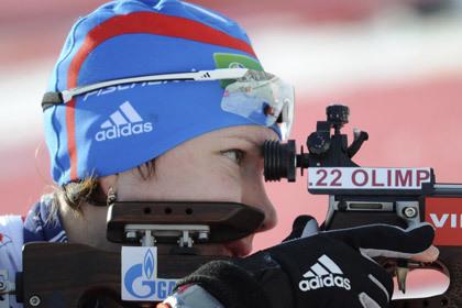 Россиянка выиграла золото чемпионата Европы по биатлону