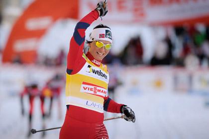 Норвежская лыжница стала девятикратной чемпионкой мира