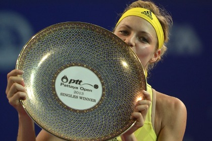 Мария Кириленко со второй попытки выиграла турнир в Паттайе