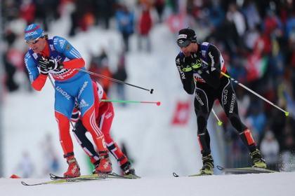 Российские лыжники остались без медалей в скиатлоне на ЧМ