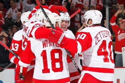 В матче НХЛ забросили 11 шайб