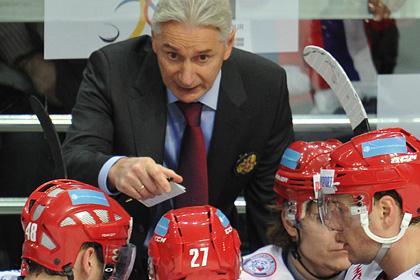 Билялетдинов сократил состав хоккейной сборной на 10 человек