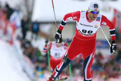 Норвежский лыжник стал восьмикратным чемпионом мира
