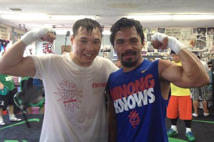 Тренер Пакиао подготовит российского боксера к чемпионскому бою