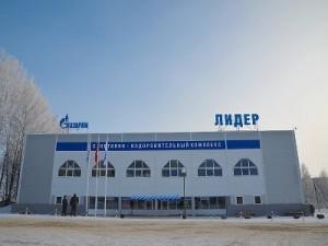 Газовщики построили в Холм-Жирковском современный спорткомплекс