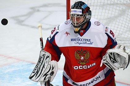 Билялетдинов выбрал вратаря на матч Евротура в Санкт-Петербурге