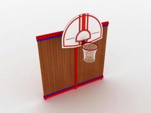Стойка баскетбольная для детских спортивных площадок