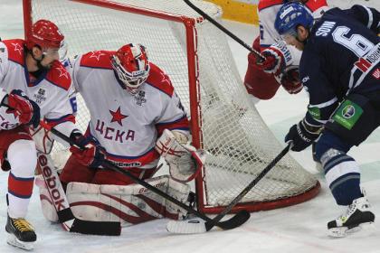 Московское «Динамо» вышло вперед в серии Кубка Гагарина