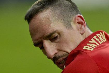 «Бавария» потеряла Рибери перед матчем с «Арсеналом»