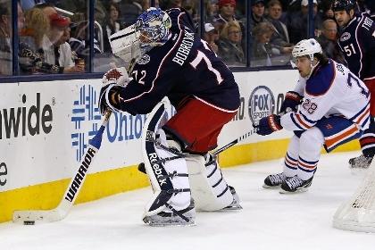 Российского вратаря признали игроком недели в НХЛ