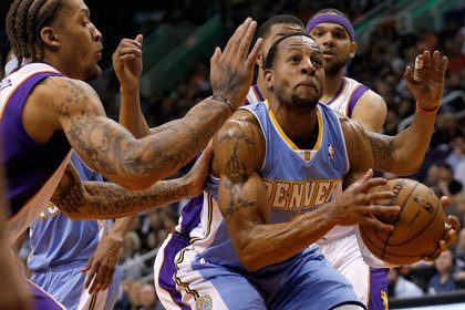 Команда Мозгова одержала девятую победу подряд в чемпионате НБА