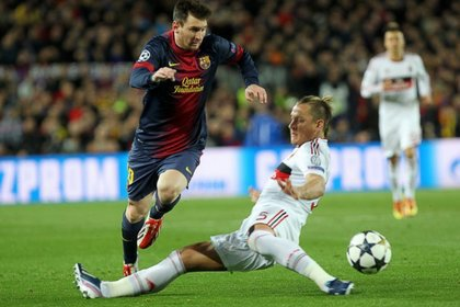 «Барселона» вышла в четвертьфинал Лиги чемпионов