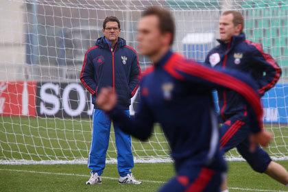 Капелло сократил состав сборной на игру с бразильцами