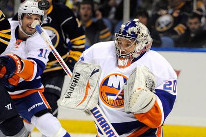 Набоков пропустил пять шайб в матче НХЛ