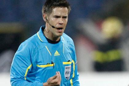 Арбитром матча сборной России по футболу назначен норвежский учитель