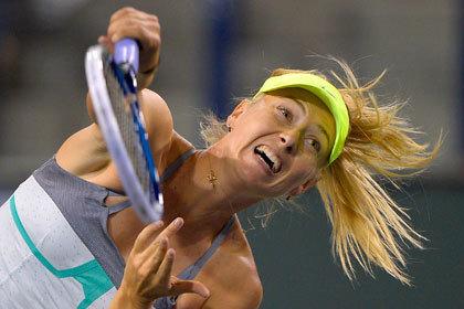 Шарапова вышла в полуфинал турнира в Индиан-Уэллсе