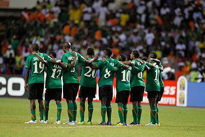 Замбия обошла Украину в рейтинге ФИФА