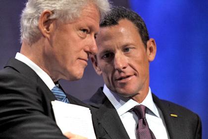 Лэнс Армстронг сравнил себя с Биллом Клинтоном