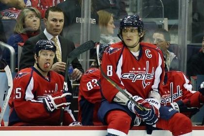 Овечкин набрал два очка в матче НХЛ